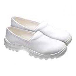 Medibut Bmfoodm43 - Zapatos de trabajo, color blanco, talla 43