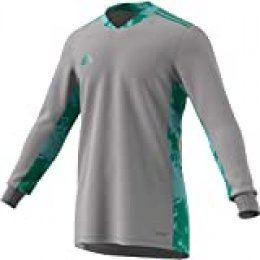adidas Adipro 20 Gk L Camiseta de Manga Larga, Hombre, Team Mid Grey/Glory Green, 2XL