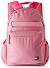 Tommy Hilfiger - Th Girls Backpack, Carteras Niñas, Rosa (Pink Mix), 12x41x30 cm (W x H L)