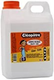 Cléopâtre, Craft Glue para mayores de 3 años, peso 2 kg, blanca