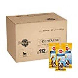 PEDIGREE DentaStix Daily Oral Care - Aperitivo para Cuidado de Dientes para Perros Que Ayuda a Reducir la formación de Placa y sarro (1 Paquete de 112 DentaStix)