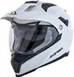 Acerbis Casco Flip FS-606 Blanco M