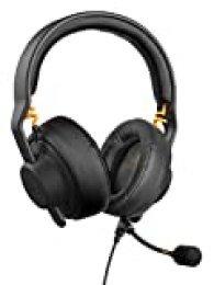 Auricular para Juegos Fnatic Gear Duel (Over-Ear y on-Ear), micrófono Desmontable, Aiaiai TMA-2 Preset, Negro