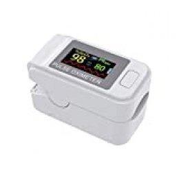 Lepeuxi Detector de pulso Pulso de la yema del dedo Monitor de operación conveniente de baja potencia Medidor de frecuencia de pulso para viajes deportivos en casa