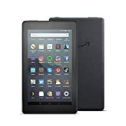 Tablet Fire 7, Reacondicionado certificado, Pantalla de 7'', 16 GB, Negro