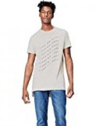 Marca Amazon - find. Camiseta con Estampado Gráfico para Hombre