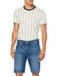 Levi's 501 Hemmed Short, Pantalones Cortos para Hombre, Azul (Nashville Short 0080), W31 (Talla del fabricante: 31)