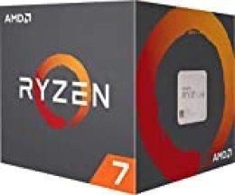 AMD Ryzen 7 3800X, Procesador con Disipador de Calor Wraith Prism (32 Mb, 8 Núcleos, Velocidad de 4.5 Ghz, 105 W)
