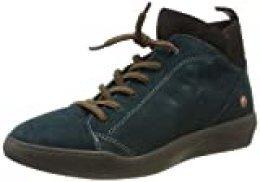 Softinos Biel549sof, Zapatillas Altas para Mujer, Verde (Dk.Petroleo 011), 40 EU