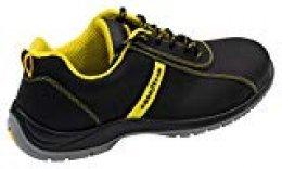 Goodyear G138/3054C Calzado (piel nubuck), Negro, 36, Set de 2 Piezas