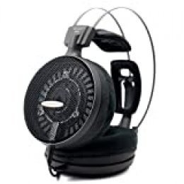 Audio Technica ATHAD2000x - Auriculares Hi-Fi (clavija jack de 3,5 mm), color negro