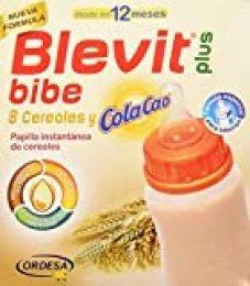 Blevit Plus  8 Cereales y Cola Cao Para Biberón, 1 unidad 600 gr. A partir de 12 meses.