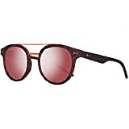 Polaroid PLD 6031/S OZ N9P Gafas de Sol, Marrón (Matt Havana/Red Grey Speckled Pz), 49 Unisex-Adulto