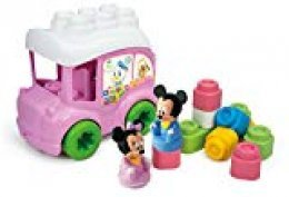 Clementoni- Clemmy Autobús Baby Minnie ( 2 pers.+ 10 Bloques )