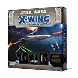 Fantasy Flight Games- Star Wars X-Wing. EL Despertar DE LA Fuerza. Caja Basica (EDFEDGSWX36)