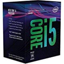 Intel Core i5-8600K - Procesador (up to 4.30 GHz, 8ª generación de procesadores Intel Core i5, 3,6 GHz, LGA 1151 (Socket H4), PC, 14 nm,  9MB Smart Cache)