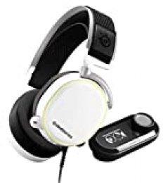 Steelseries Arctis Pro Gamedac - Auriculares De Juego - Sonido De Alta Resolución Certificado - Chip ESS Sabre Dac, Blanco