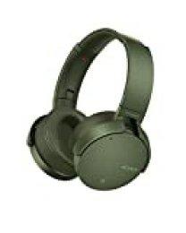 Sony MDR-XB950N1G - Auriculares Inalámbricos con Bluetooth y Extra Bass, Cancelación de Ruido, Verde