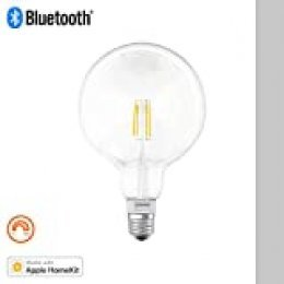 Osram Smart Bombilla Led Globo Filamento Regulable E27, 5.5 W, Blanco