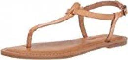Amazon Essentials – Sandalia de dedo informal con correa de tobillo para mujer