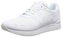 Asics Gel-Lyte NS, Zapatillas para Hombre, Blanco White 0101, 40.5 EU