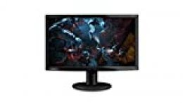 "Lenovo D24f - Monitor de 23.6"" (Pantalla Full HD, 1920 x 1080 pixeles, tiempo de respuesta de 3ms), Color negro"