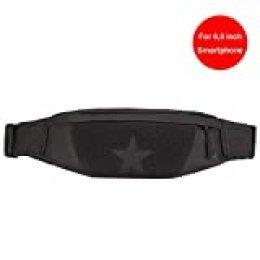 Huntvp Riñonera Táctica Mochila Deportiva Militar Bolso Cinturon Impermeable para Senderismo Ciclismo Camping Caza, Negro