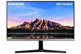 "Samsung U28R550 - Monitor de 28"" sin marcos (4K, 4 ms, 60 Hz, HDR10, FreeSync, LED, IPS, 16:9, 1000:1, 300 cd/m², 178°, HDMI 2.0, Base en V) Gris Oscuro"