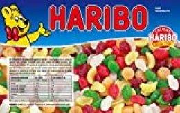 Haribo - Mini Tropifrutti - Caramelos de goma - 1 kg - [pack de 2]