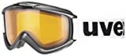 Uvex Unisex - Adulto FX Gafas de Esquí Negro Talla Única