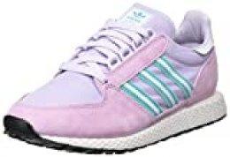 adidas Forest Grove W, Zapatillas para Mujer, Clear Lilac/Dash Grey/Hi/Res Aqua, 39 1/3 EU