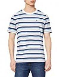 NIKE M NSW tee Stripe Camiseta de Manga Corta, Hombre, White