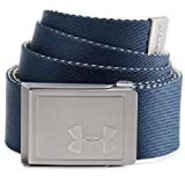 Under Armour Men's Webbing 20 Belt Cinturón, Hombre