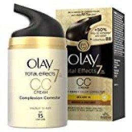 Olay Total Effects 7 en 1 CC Cream Anti-Edad Correctora de Tono Medio A Oscuro SPF15 - 50ml