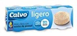 Calvo Atún Aceite de Girasol - 10 Paquete de 3 Latas