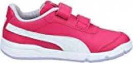 PUMA STEPFLEEX 2 SL VE V PS, Zapatillas Unisex niños, Rosa (Bright Rose White/Purple Heather/Peony), 35 EU