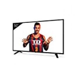 Televisiones Smart TV 50 Pulgadas 4K Android 9.0 y HBBTV, 1500 PCI Hz UHD HDR, 3X HDMI, 2X USB. DVB-T2/C/S2, Modo Hotel - Televisores TD Systems K50DLJ11US