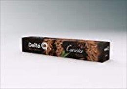 Delta Q - Cinnamon Cápsulas de Café - Canela - 6 paquetes de 10 Cápsulas