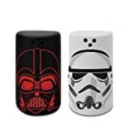 Star Wars - Salero y pimentero, diseño de Darth Vader y Stormtrooper