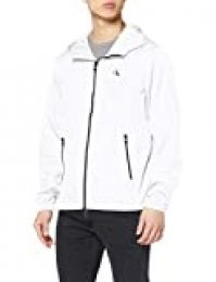 Calvin Klein Zip Through HD Jacket Chaqueta, Blanco (Bright White Yaf), X-Large para Hombre