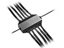 DEEP COOL FH-10 Integrado Ventilador Hub, Apoya en Ventiladores (de 3/4 Pines) hasta 10 con PWM Función, Alimentado por PSU(SATA), no por Placa Base