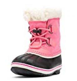 Sorel Yoot Pac Nylon, Botas de Invierno Unisex Niños, Rosa (Lollipop/Pink GLO 674), 37 EU