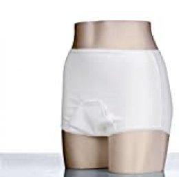 Kanga - Par de pañales de incontinencia para adultos (impermeable, talla XL: 112-117 cm), color blanco