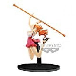 Banpresto One Piece Estatua BWFC Nami, Multicolor (BANP82973)