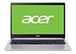 """Acer Aspire 5 - Ordenador portátil de 15.6"""" (FHD ComfyView LED LCD,  Intel Core i7-10510U, 8GB de RAM, 512GB SSD, UMA, Windows 10 Home) - Teclado Qwerty Español"""