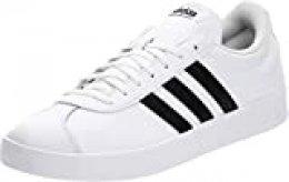 Adidas VL Court 2.0, Zapatillas para Hombre, Blanco (Footwear White/Core Black/Core Black 0), 47 1/3 EU