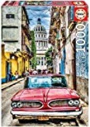 Educa Borrás dibujos animados y cómic Puzzle 1.000 piezas, Coche en la Habana, color 16754