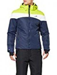 Black Crevice Crevice - Chaqueta de esquí para Hombre, Invierno, Hombre, Color Green/White/Navy, tamaño 50