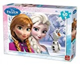 King- 2 Puzzles Frozen 50 pcs Rompecabezas, Multicolor (05315)