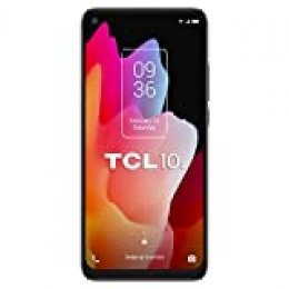 """TCL 10L – Smartphone 6.53"""" NXTVISION (4G, NFC, 6GB RAM, 64GB ROM, Cuádruple Cámara Trasera 48MP + 8MP + 2MP + 2MP, Cámara Frontal 16MP) color azul"""